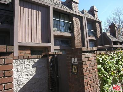 Condo/Townhouse For Sale: 4640 Glencoe Avenue #3