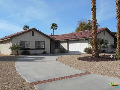 Desert Hot Springs Single Family Home For Sale: 9761 Brookline Avenue