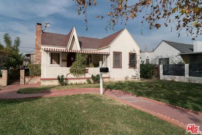 Los Angeles Single Family Home For Sale: 1495 Oak Grove Drive