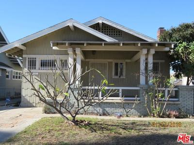 Los Angeles Single Family Home For Sale: 247 Ardmore Avenue