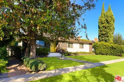 Single Family Home For Sale: 11347 Clover Avenue