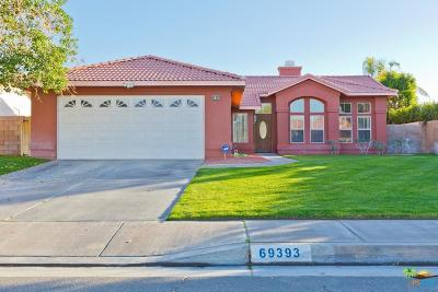 Cathedral City Single Family Home For Sale: 69393 Cypress Road
