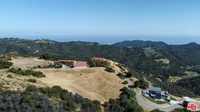 Malibu Residential Lots & Land For Sale: Castro Peak Motorway