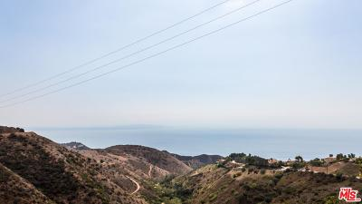 Malibu Residential Lots & Land For Sale: Latigo Canyon Rd