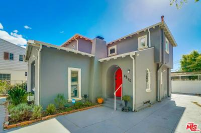 Single Family Home For Sale: 6270 West Olympic