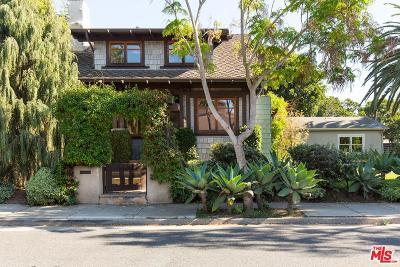 Santa Monica Single Family Home For Sale: 706 Navy Street