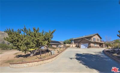 Acton Single Family Home For Sale: 35233 Via Famero Drive
