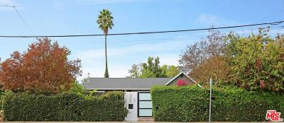 Valley Village Single Family Home For Sale: 4855 Colfax Avenue