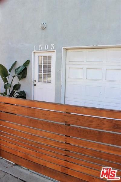 Single Family Home For Sale: 1503 Butler Avenue