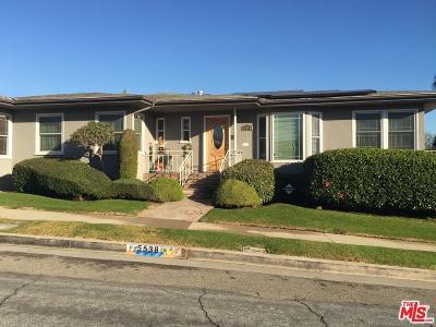 Los Angeles Single Family Home For Sale: 5538 Onacrest Drive