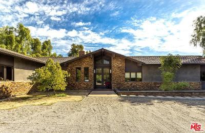 Hidden Hills Single Family Home For Sale: 24754 Robert Guy Road