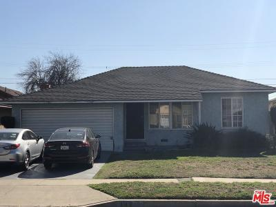 Los Angeles Single Family Home For Sale: 142 East 136th Street