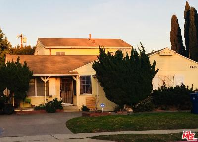 Single Family Home For Sale: 3424 Maplewood Avenue