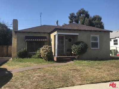 Compton Single Family Home For Sale: 1219 North Willow Avenue