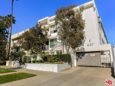 Santa Monica Condo/Townhouse For Sale: 837 10th Street #10