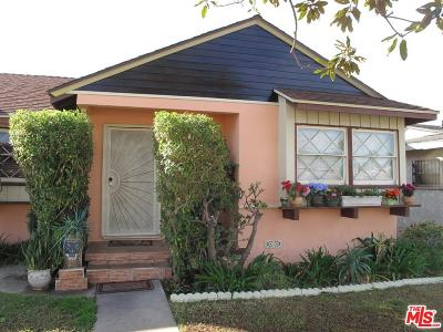 Inglewood Single Family Home For Sale: 2814 West 108th Street