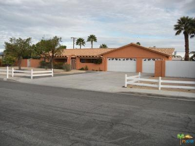 Palm Springs Single Family Home For Sale: 2122 East Sahara Road