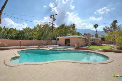 Palm Springs Single Family Home For Sale: 153 West Santa Clara Way
