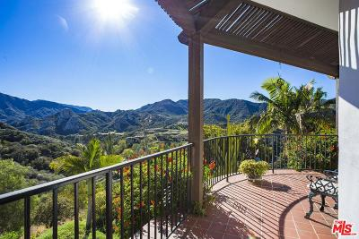 Topanga Single Family Home For Sale: 2709 Topanga Skyline Drive