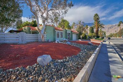 Palm Springs Single Family Home For Sale: 1395 East Via Escuela