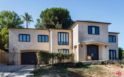 Studio City Single Family Home Sold: 11468 Dona Teresa Drive
