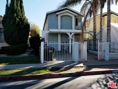 Los Angeles Single Family Home For Sale: Gorman Avenue