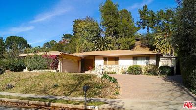 Encino Single Family Home For Sale: 4068 Hayvenhurst Drive