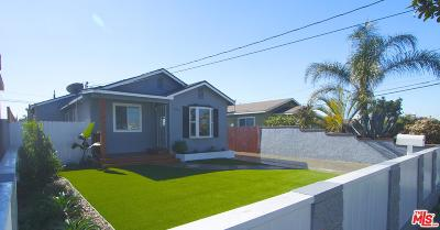 Inglewood Single Family Home For Sale: 3750 West 113th Street