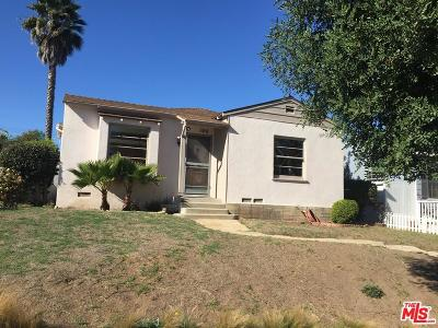Santa Monica Single Family Home For Sale: 1515 Hill Street