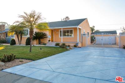 Single Family Home For Sale: 3871 South Sycamore Avenue