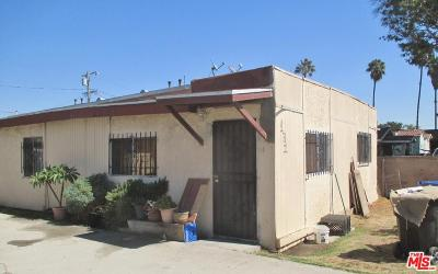Los Angeles Single Family Home For Sale: 131 East 88th Street