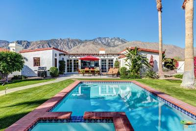 Palm Springs CA Single Family Home For Sale: $798,000