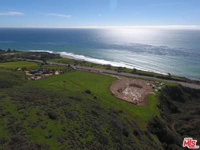 Malibu Residential Lots & Land For Sale: 34305 Pacific Coast Highway