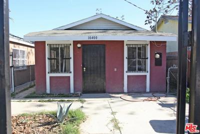 Los Angeles Single Family Home For Sale: 10400 Lou Dillon Avenue