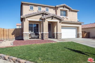 Rosamond Single Family Home For Sale: 3439 Brabham Avenue