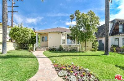 Santa Monica Single Family Home For Sale: 819 Princeton Street