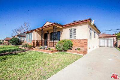 Compton Single Family Home For Sale: 13906 South Northwood Avenue