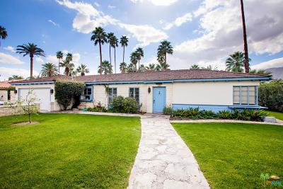 Palm Springs Single Family Home For Sale: 385 East Valmonte Norte