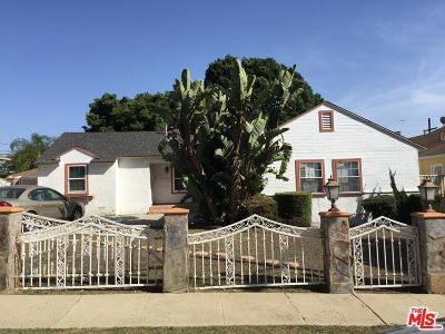 Inglewood Single Family Home For Sale: 9812 South 4th Avenue