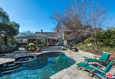 Los Angeles County Single Family Home Active Under Contract: 898 Camino Colibri