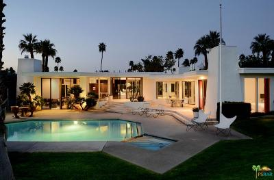Palm Springs CA Single Family Home For Sale: $1,395,000