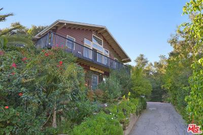 Topanga Single Family Home For Sale: 19585 Grand View Drive
