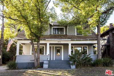 Pasadena Single Family Home For Sale: 1075 North Los Robles Avenue