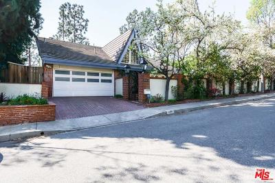 Studio City Single Family Home For Sale: 3421 Berry Drive