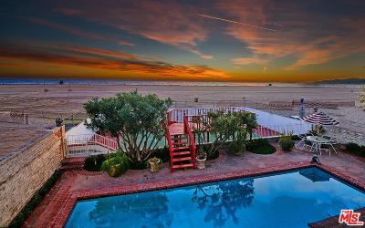 Santa Monica Single Family Home Sold: 1038 Palisades Beach Road