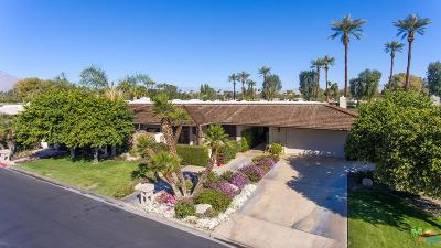 Rancho Mirage Single Family Home For Sale: 62 Columbia Drive