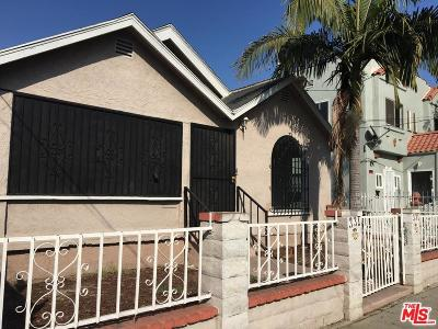 Los Angeles Single Family Home For Sale: 331 West 58th Street