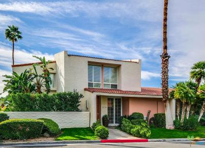 Palm Springs Condo/Townhouse For Sale: 2511 North Whitewater Club Drive #A