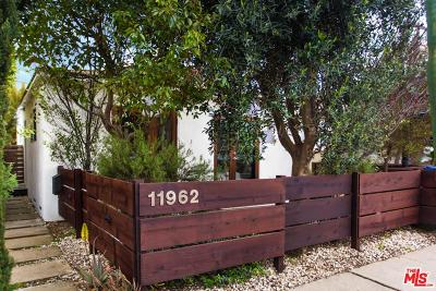Single Family Home Sold: 11962 Culver Drive