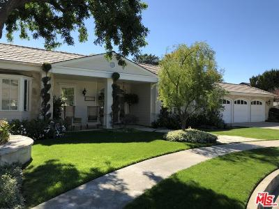 Encino Single Family Home For Sale: 17340 Cumpston Street